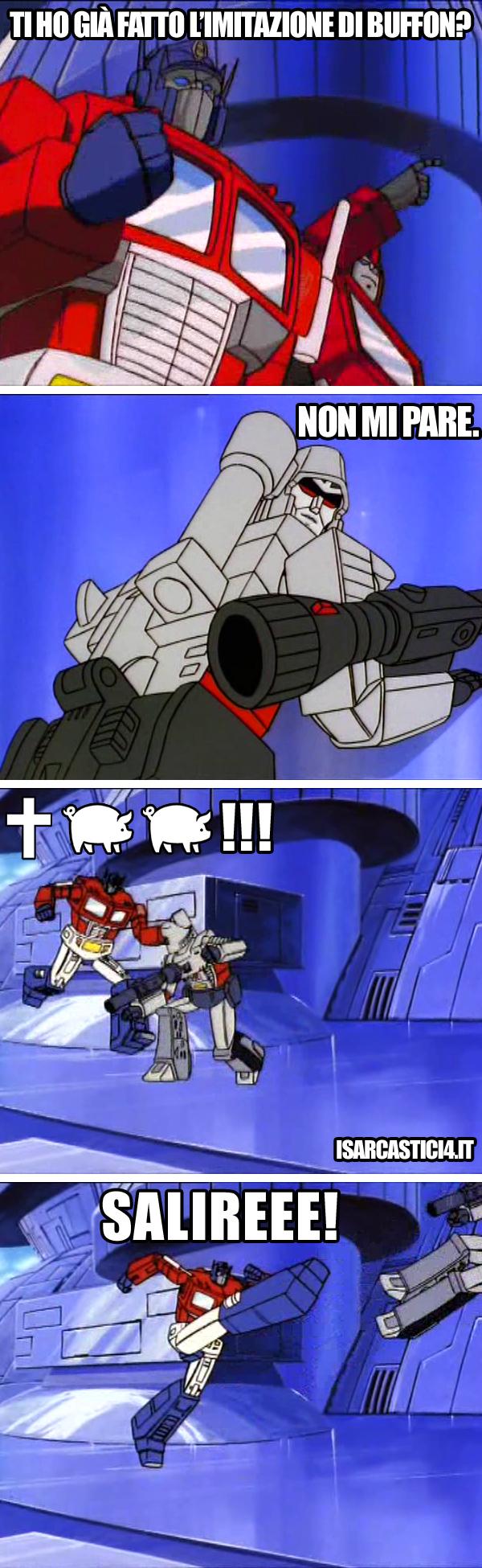 Transfomers meme ita - Imitazione