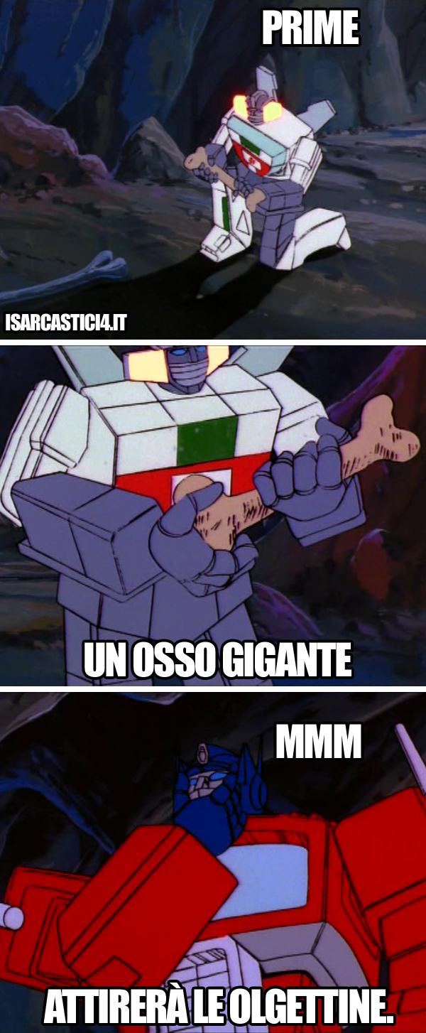 Transfomers meme ita - Osso