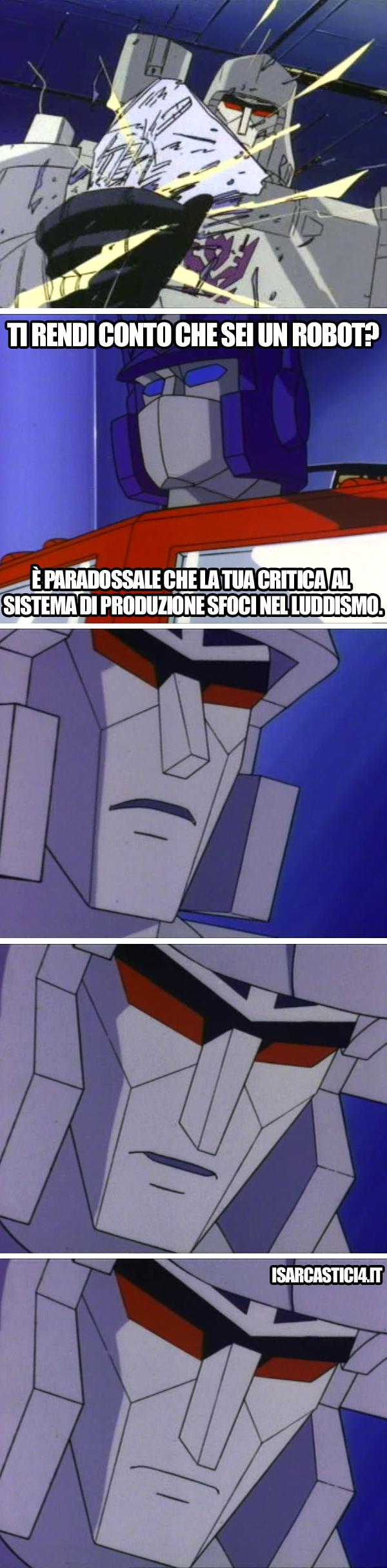 Transfomers meme ita - Consapevolezza