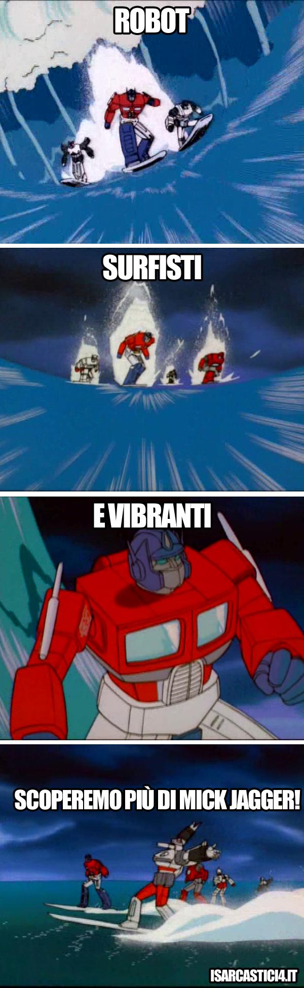 Transfomers meme ita - Razza superiore