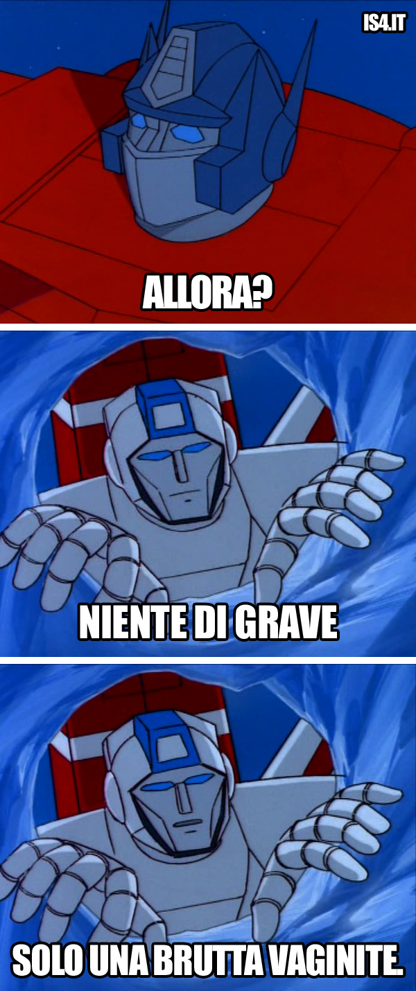 Transfomers meme ita - Allora?