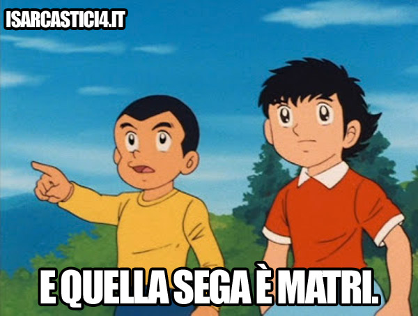Holly & Benji meme - Juventus & Matri