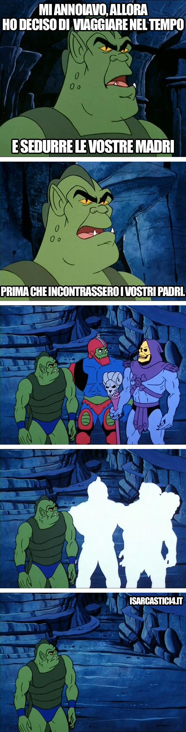 MOTU, Masters Of The Universe meme ita - Paradosso